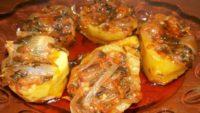 Soğanlı ve Sebzeli Patates Dolması