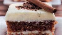 Tarçınlı Çikolatalı Pasta