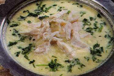 Tavuklu Eyvan Çorbası