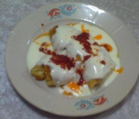 Yoğurtlu Paşa Böreği